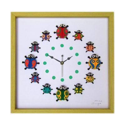 クレイアート 時計