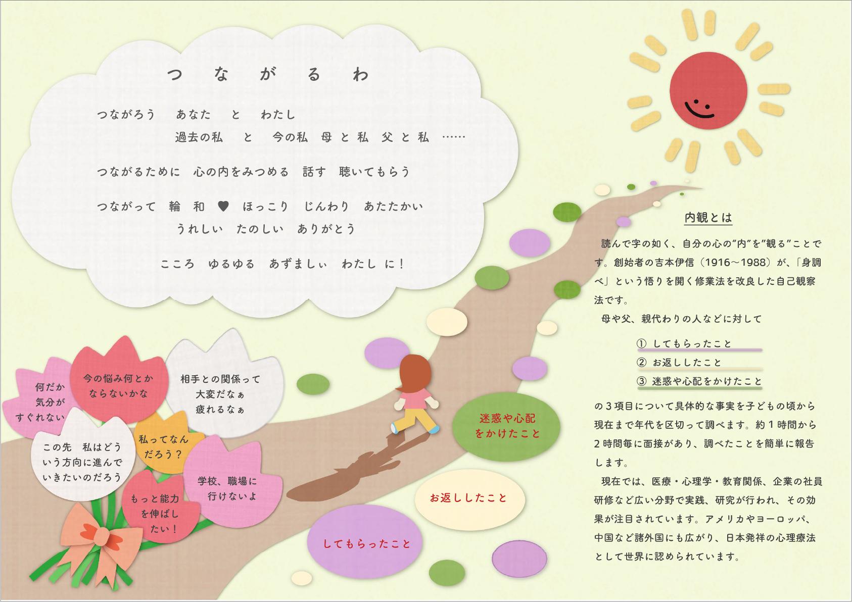 津軽内観研修所パンフレット